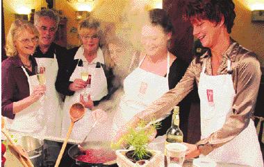 Gemeinsam Kochen ist ein Spaß für alle