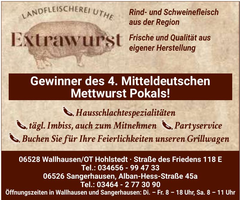 Landfleischerei Uthe Extrawurst