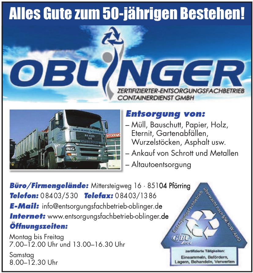 Oblinger