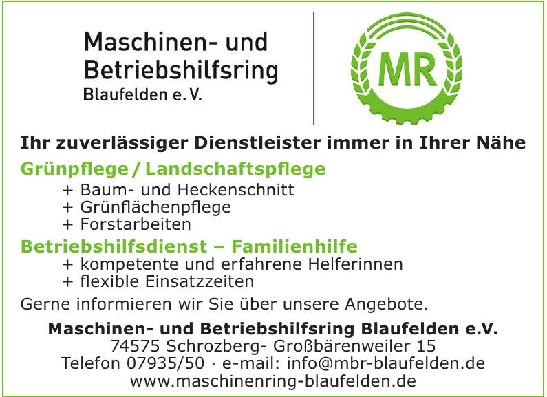 Maschinen- und Betričbshilfring Blaufelden e.V.