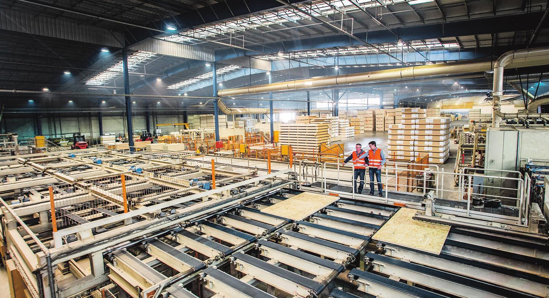 Die OSB-Platten-Produktion von SWISS KRONO in Heiligengrabe wird erweitert. Foto: rosengruen.de (Henry Mundt)
