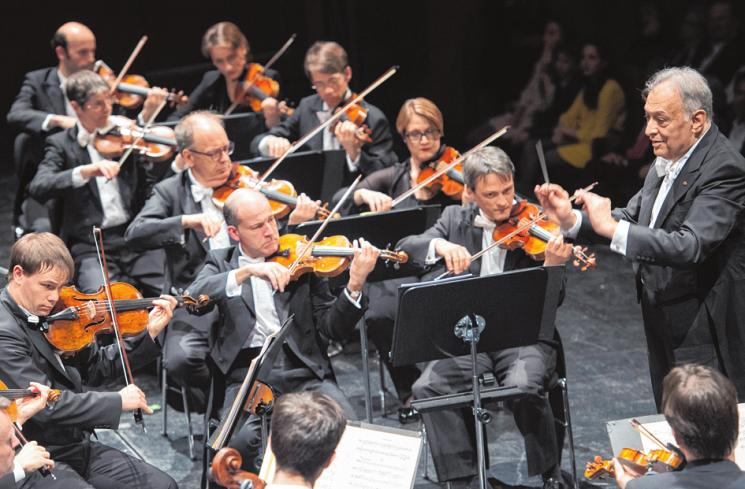Die Berliner Philharmoniker prägen traditionell die Festspiele. MONIKA RITTERSHAUS