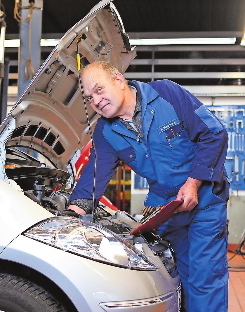 Partner fürs Auto: Gütermann Kfz-Werkstatt. FOTO: GÜTERMANN