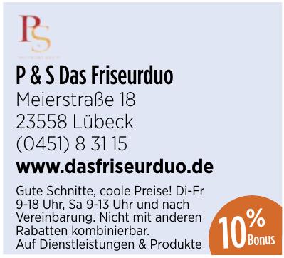 P & S Das Friseurduo