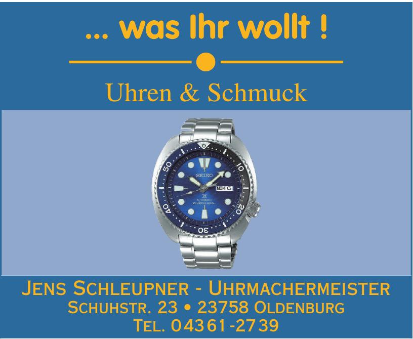 Jens Schleupner - Uhrmachermeister