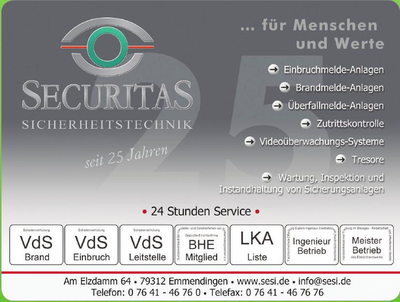 Securitas GmbH Sicherheitstechnik