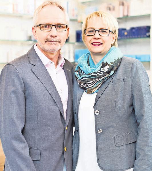 Thomas und Phädra Knop und ihr Team bieten in ihrem Kosmetik-Fachinstitut alles für ein optimiertes Erscheinungsbild.