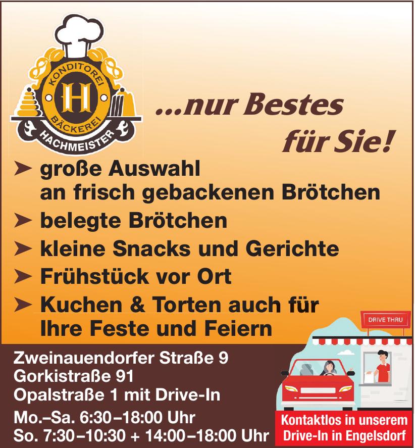 Konditorei - Bäckerei Hachmeister