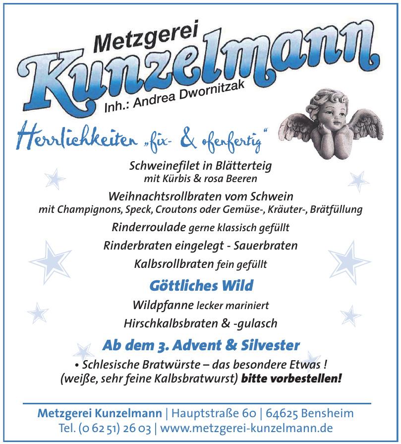 Metzgerei Kunzelmann