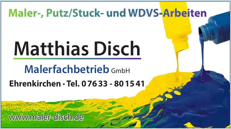 Matthias Disch Malerfachbetrieb GmbH
