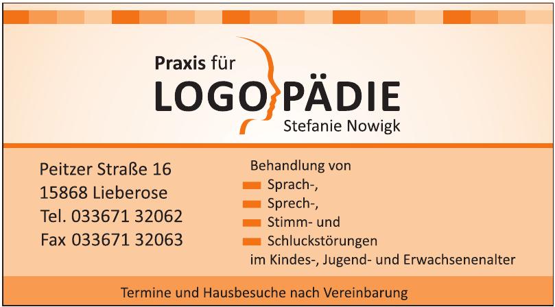 Praxis für Logopädie Stefanie Nowigk