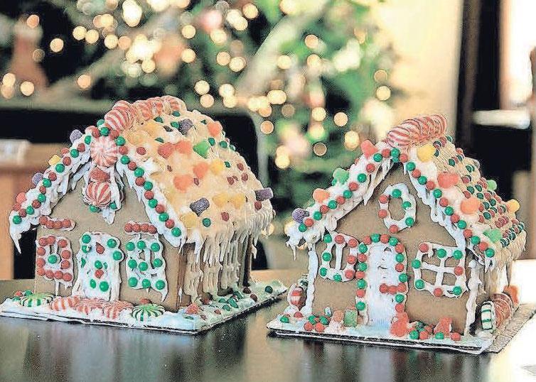 Alles eine Frage der Perspektive: Ein Lebkuchenhaus zu backen und zu gestalten kostet nicht nur Zeit, sondern bereitet auch viel Freude – und schmeckt gut. Foto: Pixabay / White77