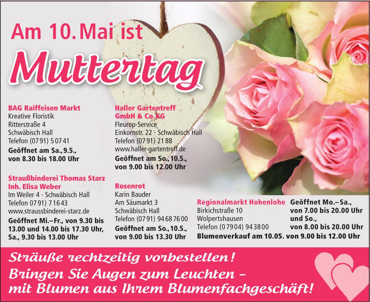 BAG Raiffeisen Markt Kreative Floristik