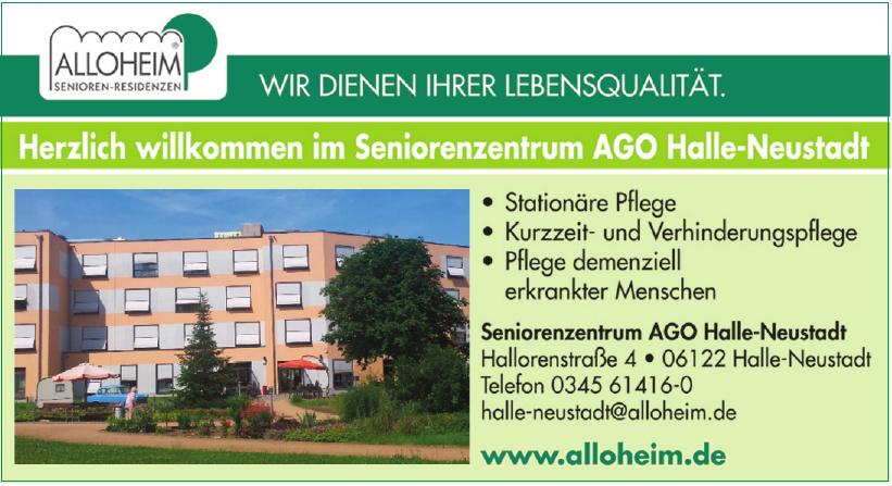 Seniorenzentrum AGO Halle-Neustadt