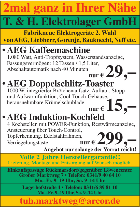 T. & H. Elektrolager GmbH