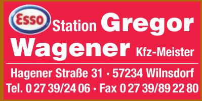 Station Gregor Wagener Kfz-Meister