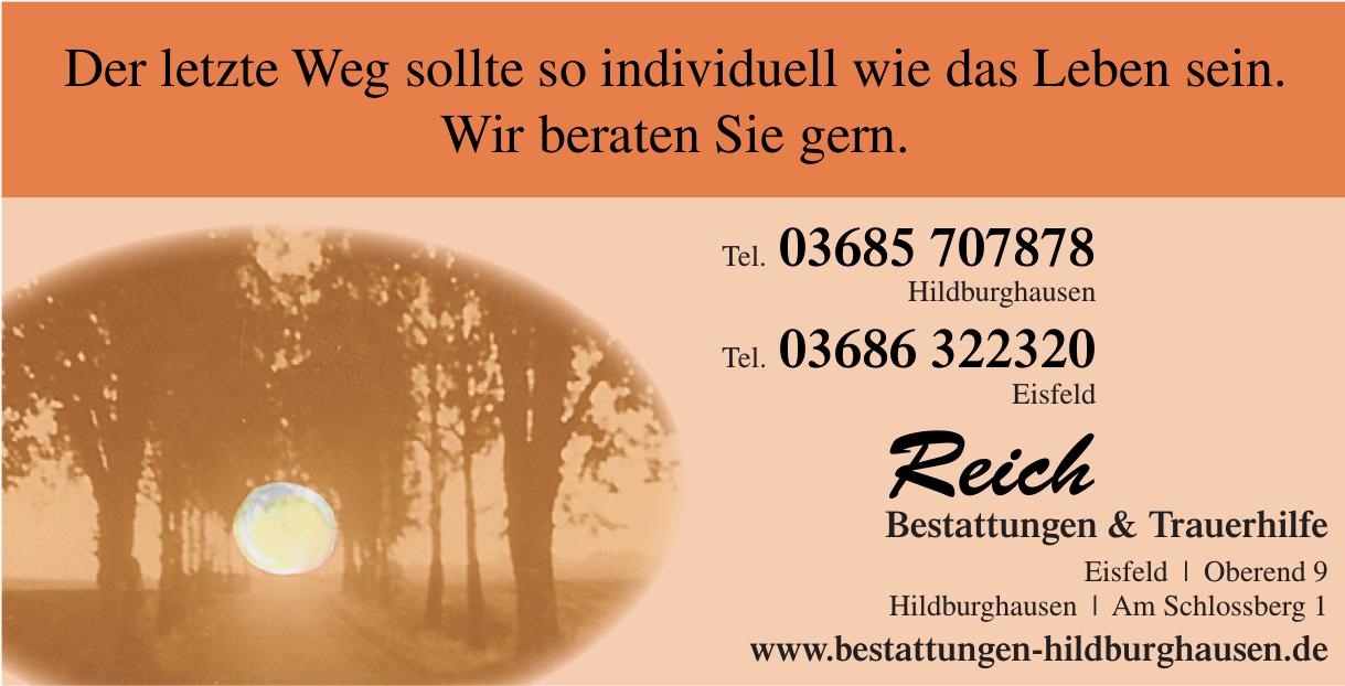 Reich Bestattungen & Trauerhilfe