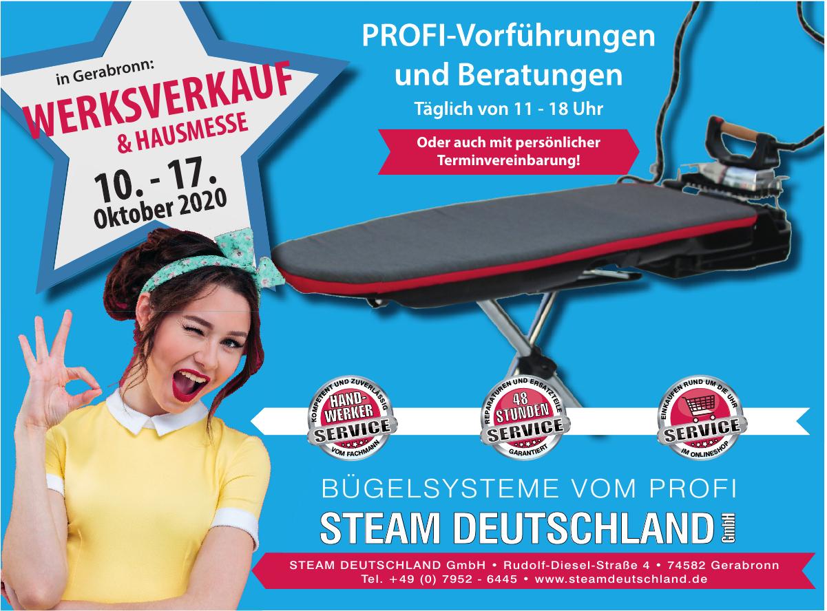 Steam Deutschland  GmbH