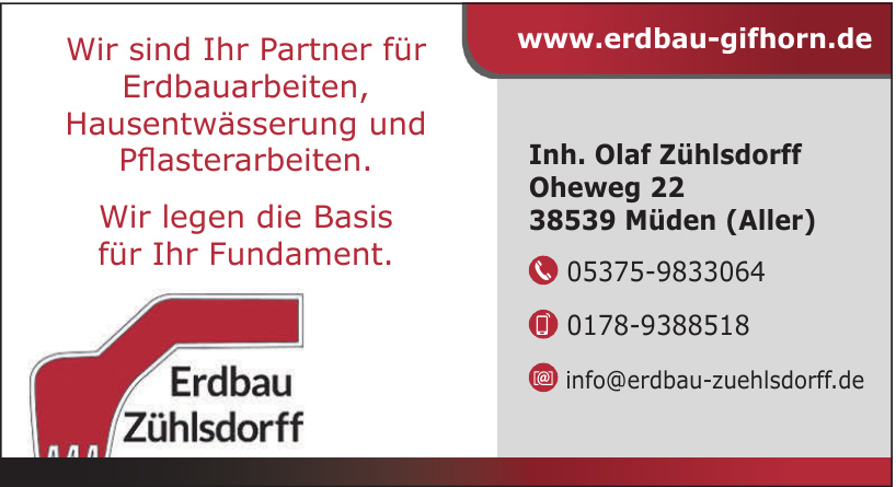 Erdbau Zühlsdorff