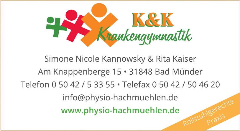 K & K Krankengymnastik
