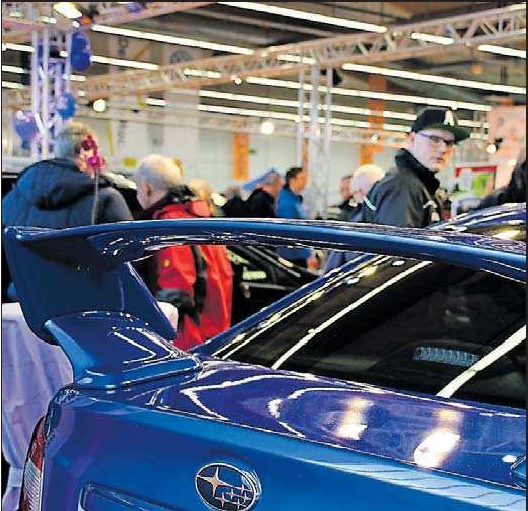 Sportliche Fahrzeuge gibt es auch in diesem Jahr. FOTO: FRITS/FREI