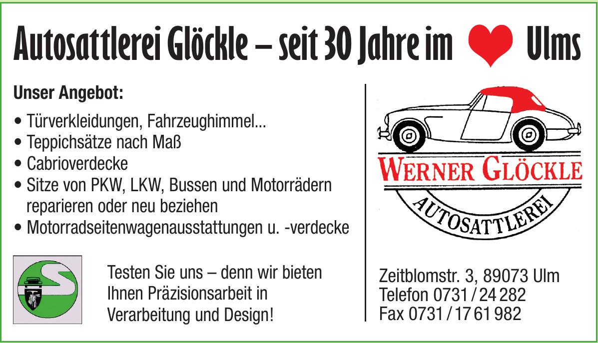 Werner Glöckle Autosattlerei