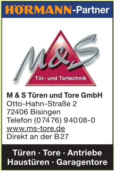 M &S Türen und Tore GmbH