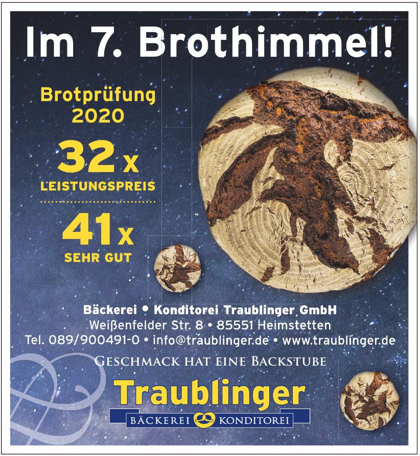 Bäckerei + Konditorei Traublinger GmbH
