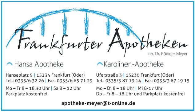 Frankfurten Apotheken - Hansa Apotheke