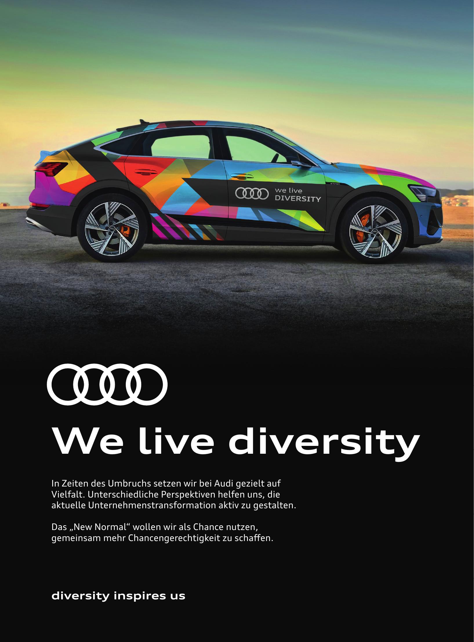 Audi - We live diversity