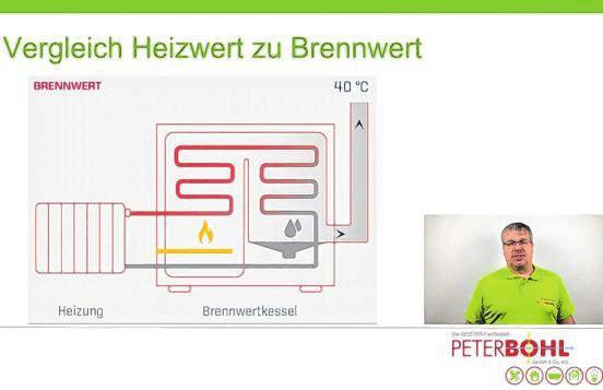 Anhand von Grafiken erläutern die Experten – hier Markus Bernhardt – verschiedene Sachverhalte.