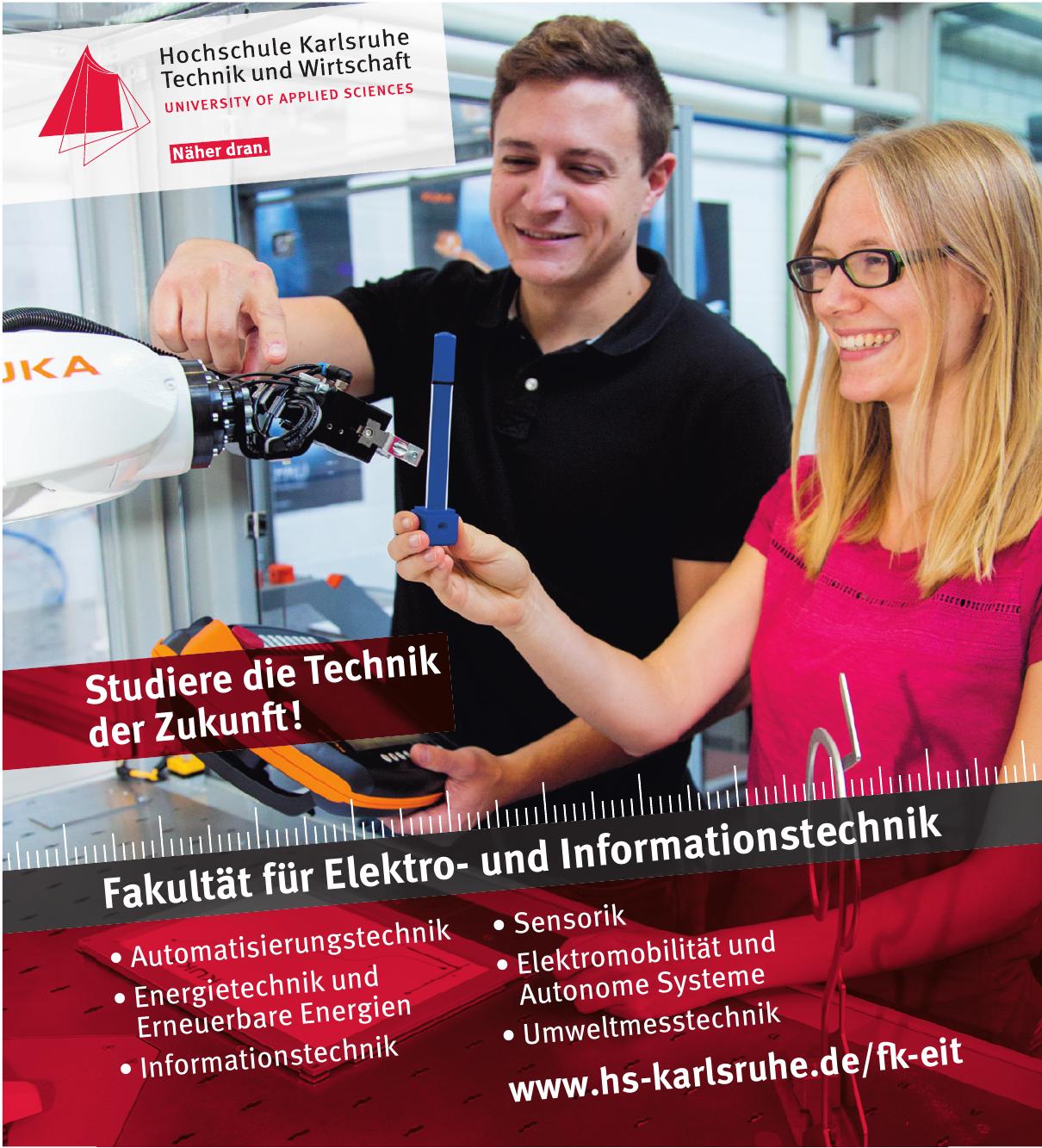Hochschule Karlsruhe Technik und Wirtschaft