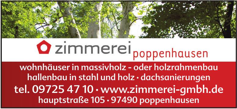 Zimmerei Poppenhausen