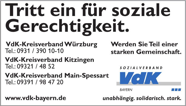VdK-Kreisverband Würzburg