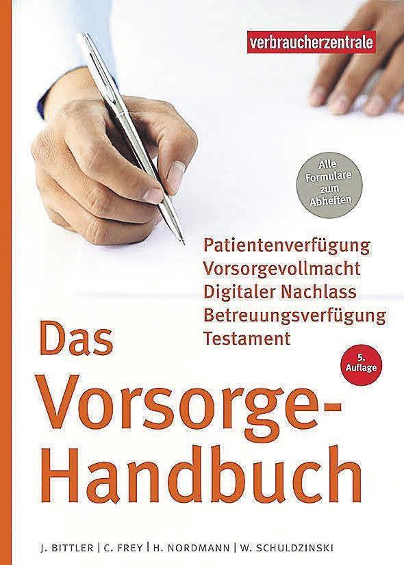 Alles rund um das Thema Vorsorge ist in diesem Ratgeber zu finden. Foto: verbraucherzentrale.de