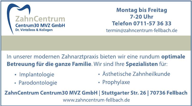 ZahnCentrum im Centrum 30 MVZ GmbH