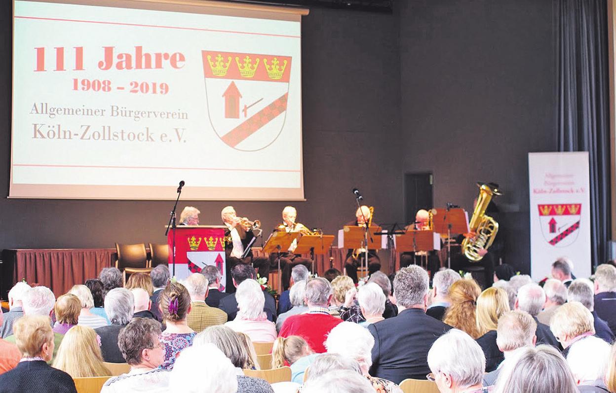 Zur Feier kamen 400 geladende Gäste Bild: Bürgerverein Köln-Zollstock e. V.