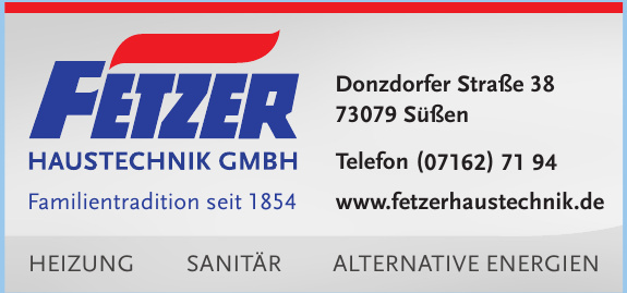 Fetzer Haustechnik GmbH