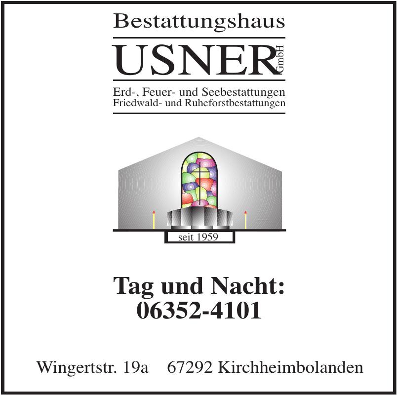 Bestattungshaus Usner GmbH