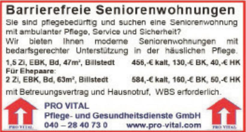Pro Vital Pflege- und Gesundheitsdienste GmbH