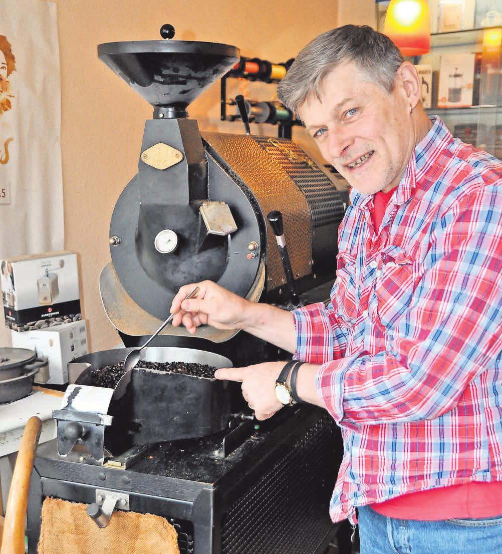 """Lars Siegmund ist """"der"""" Kaffee-Experte in Kirchrode und Umgebung."""