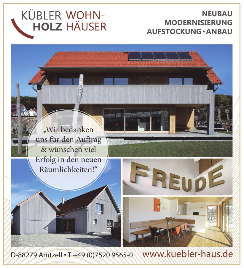Kübler Holz Wohnhaus Vertriebs GmbH