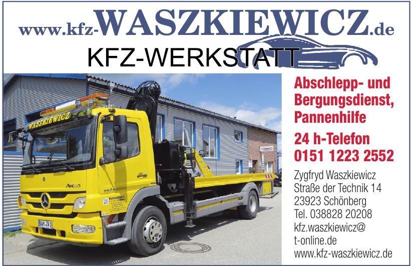 Kfz-Meisterbetrieb Zygfryd Waszkiewicz
