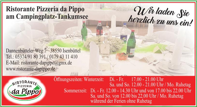 Ristorante Pizzeria da Pippo am Campingplatz-Tankumsee