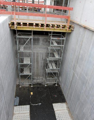 Bis zu 700 Liter pro Sekunde können durch die Anlage laufen. In den Sandfilterkammern werden anschließend noch die letzten Schwebteilchen aus dem Wasser entfernt.