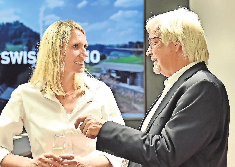 Heike Welling und Rolf-Georg Köhler. FOTO: MISCHKE