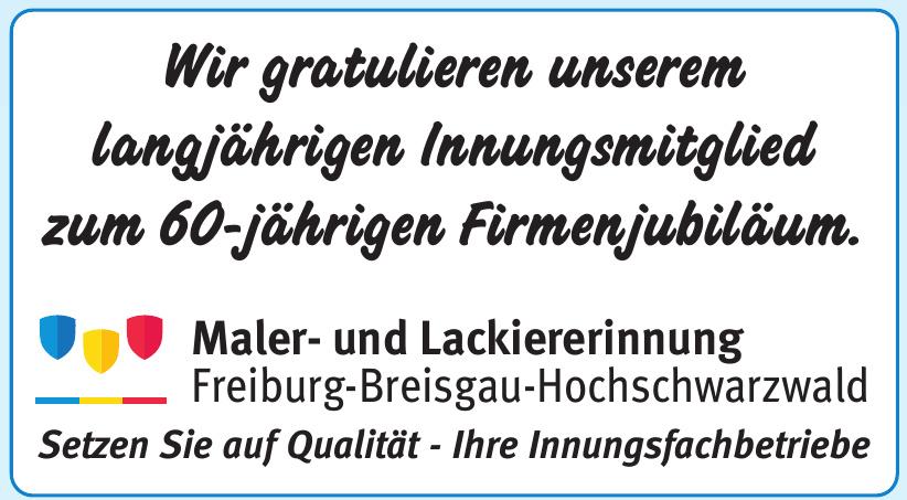 Maler- und Lackiererinnung Freiburg-Breisgau-Hochschwarzwald