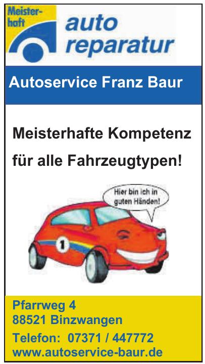 Autoservice Franz Baur