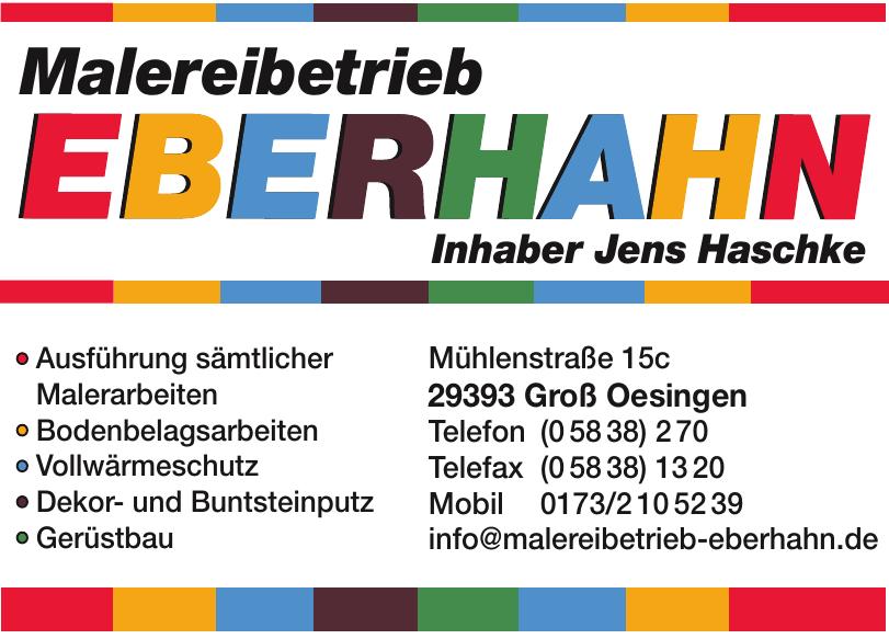 Malereibetrieb Eberhahn
