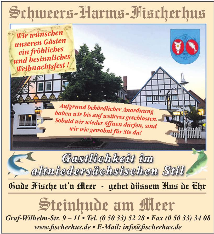 Schweers-Harms-Fischerhus - Steinhude am Meer